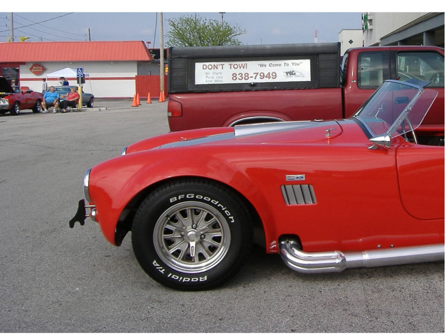 Mobile Auto Mechanic Service, 1966 Ford AC Cobra, our mechanics perform preventive maintenance, diagnostics, mechanical, or electrical repairs, on hi performance, sports and classic cars on the spot, no towing necessary.