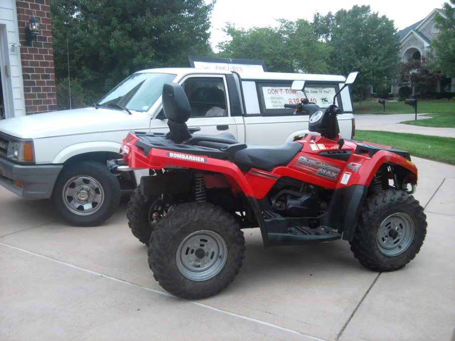 This 2004 Bombardier 400 4x4 would not start, so the customer called PMC Super Tuners to run diagnostics, after a carb repair to the atv at his location, this bombardier starts right up and runs like new again.