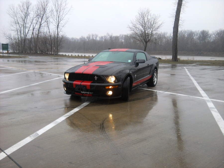 Cold, messy weather! Keep an extra pair of wiper blades handy for this 2007 Ford Mustang. PMC Super Tuners went to the customer's home in St. Louis County to perform some routine auto repair and maintenance. See our blog to help prepare for winter. Be safe with new wiper blades!